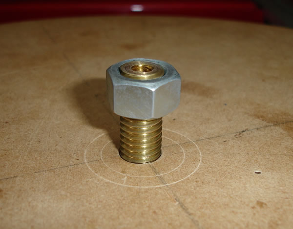 Mdf Screw Inserts ~ Rotary table work holding threaded insert